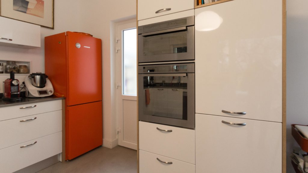 Réalisation ACTIBATI - création d'une cuisine dans l'extension d'une maison