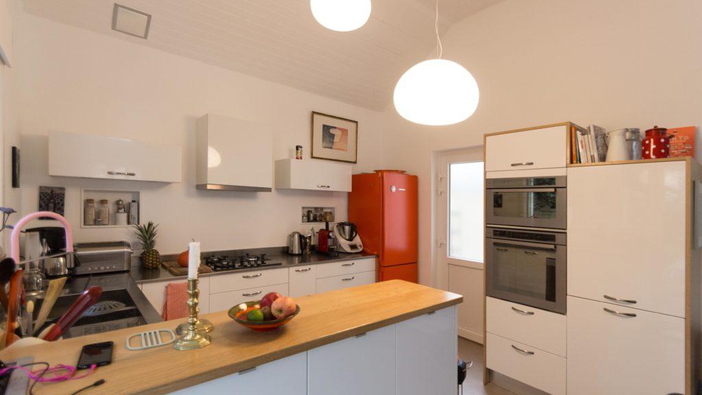 Création d\'une cuisine ouverte dans l\'extension d\'une maison ...